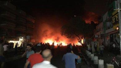 صورة اكثر من 60 شهيد و100 جريح حصيلة تفجيرات الكرادة