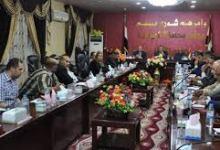 صورة مجلس الديوانية اعفاء بالجملة لمدراء دوائر حكوميةواختيار مديرا جديدا ِلشرطة المحافظة