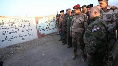صورة العبادي يدعو اهالي الموصل بعدم السماح لداعش تدمير البنى التحتية