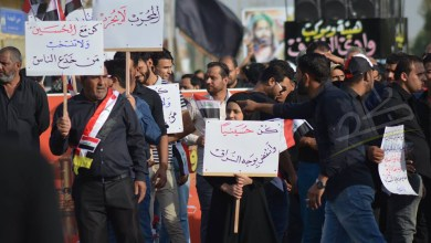 صورة بالصور ابناء الديوانية يتظاهرون بموكب حسيني