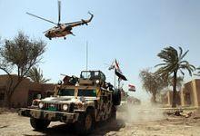صورة القوات العراقية تستعيد السيطرة على قرية العذبة قرب الموصل