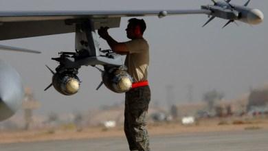 صورة ضربات جوية عراقية تستهدف مواقع تابعة لداعش