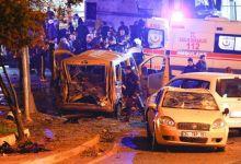 صورة بالصور/الداخلية التركية:إصابة 20 فردًا على الأقل فى تفجيرات أسطنبول