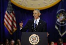 صورة أوباما، في خطاب الوداع : الولايات المتحدة أصبحت أفضل وأقوى مما كانت عليه