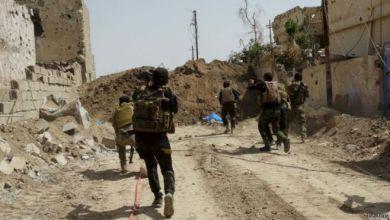 صورة القوات الامنية تقتل 17 داعشي شمالي الموصل