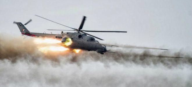 طيران التحالف يدمر 3 عجلات لداعش شمالي الانبار