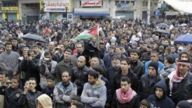 """صورة آلاف المتظاهرين في الأردن يطالبون بـ""""إسقاط الحكومة"""""""