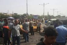 صورة هجوم بسيارة مفخخة في مدينة الصدر وداعش يتبنى الهجوم