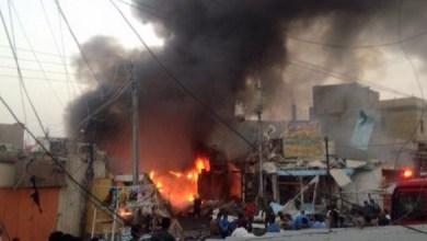 صورة تفجير طريق بغداد – كركوك يسفر عن 13 شهيد وجريح كحصيلة اولية