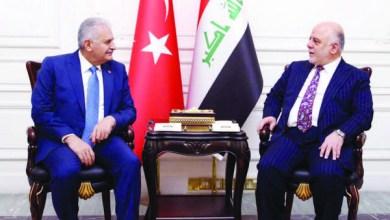 صورة العبادي يجدد الدعوة لسحب القوات التركية من العراق