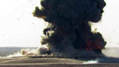 صورة الشرطة الاتحادية تتصدى هجوم لتنظيم داعش بالعجلات المفخخة