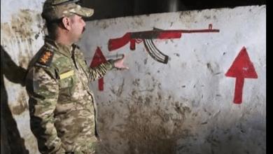 صورة القوات العراقية تعثر على معسكر تدريب لداعش تحت الارض قرب الموصل