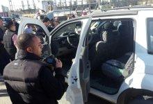 صورة اغتيال رجل امن في كركوك