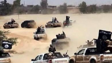 صورة مقتل 50 داعشيا اثناء عبورهم من سوريا الى العراق
