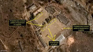 """صورة كوريا الشمالية تصدم الولايات المتحدة بنشاط نووي """"غير مألوف"""""""