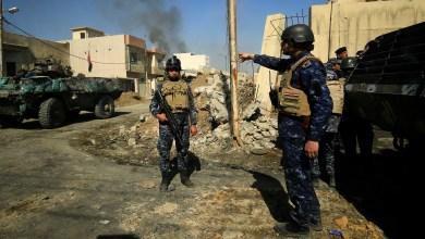 صورة قوات الشرطة الاتحادية تحرر حي الشفاء بالكامل