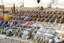 صورة الاستخبارات العسكرية تلقي القبض على إرهابيين وتضبط أسلحة وأعتدة بحوزتهم شمال بغداد