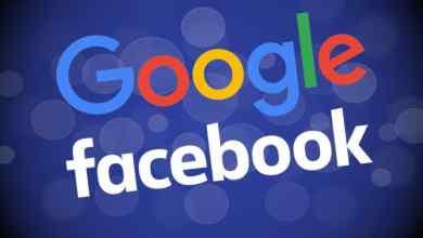 صورة فيس بوك وجوجل تحصلان على 20٪ من إجمالي الإنفاق الإعلاني العالمي