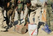 صورة نزوح جديد في الموصل بسبب مخلفات حربية