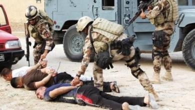 صورة عمليات الرافدين:1444 معتقل خلال شهر تموز في اربع محافظات عراقية