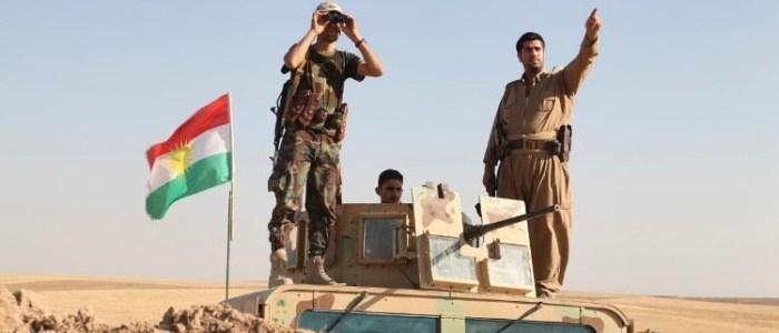 أنتشر للقوات البيشمركة قرب كركوك وبغداد تنفي أي استعدادات للهجوم
