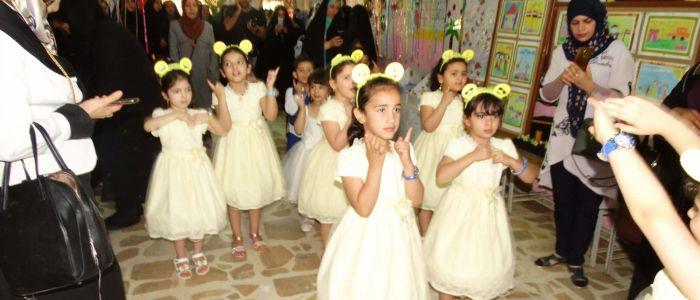 قصر الثقافة الديواني يشارك رياض الاطفال مهرجانها السنوي