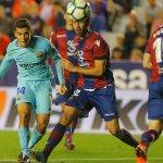 برشلونة يتلقى اول خسارة في الليغا