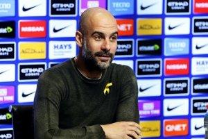 جوارديولا يحدد موقفه من رحيل أجويرو عن مانشستر سيتي