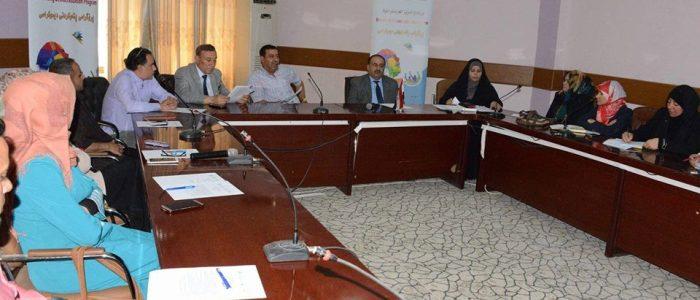 فريق دعم برنامج تعزيز الديمقراطية يعقد اجتماعه الأول في محافظة الديوانية