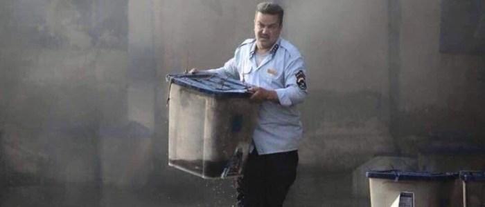 القصة الكاملة للشرطي الذي تواجد بحادثي التفجير والحرق ببغداد