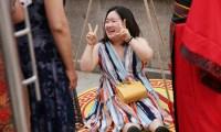 بالصور.. حديقة صينية توفر دخولا مجانيا للنساء الأكثر وزنا