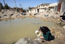 """صورة كارثة بيئية تدفع بمفوضية حقوق الانسان للمطالبة بإعلان البصرة """"مدينة منكوبة"""""""