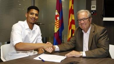 صورة رسمياً .. برشلونة يضم اللاعب الشاب رونالد أراوخو