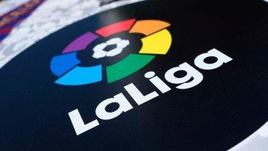 """صورة برشلونة الاسباني يعلن حمل شعار """"الليجا"""" في الموسم المقبل"""