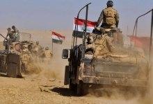 صورة انطلاق عملية عسكرية عراقية لملاحقة داعش قرب الحدود السورية