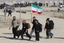 صورة مليون و600 ألف ايراني دخلوا العراق لاداء الزيارة الاربعينية