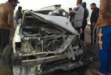 صورة حادث سير مروع في الديوانية يودي بحياة 11 شخصا بينهم اطفال