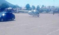 """بسبب الجوع هبط بمروحية لطلب """"ساندويش"""""""