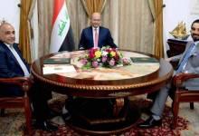 صورة الرئاسات الثلاث في العراق تصدر بيانا جديدا بشأن الوزارات الشاغرة