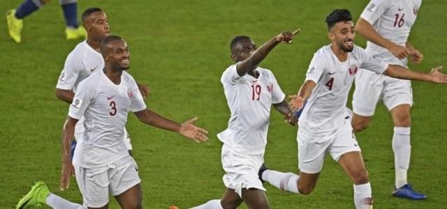 قطر تمطر اليابان بثلاثية ثمنها كأس آسيا.!