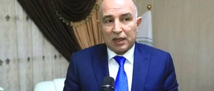 محافظ نينوى يقاضي رئيس البرلمان محمد الحلبوسي