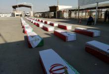 صورة بغداد تسلم طهران رفاة إيرانيين في الشلامجة