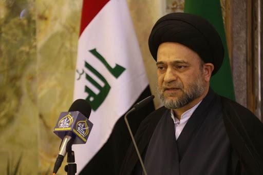 صورة رئيس ديوان الوقف الشيعي يقدم طلبا للسيستاني بإحالته إلى التقاعد