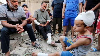 صورة مصرع طفلة واصابة اخرين بانفجار مخلفات حربية في النجف