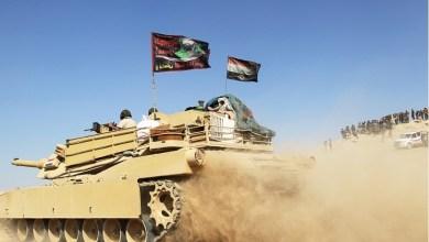 """صورة الإجهاز على """"داعشي"""" خلال محاولة تسلل شمال بغداد"""