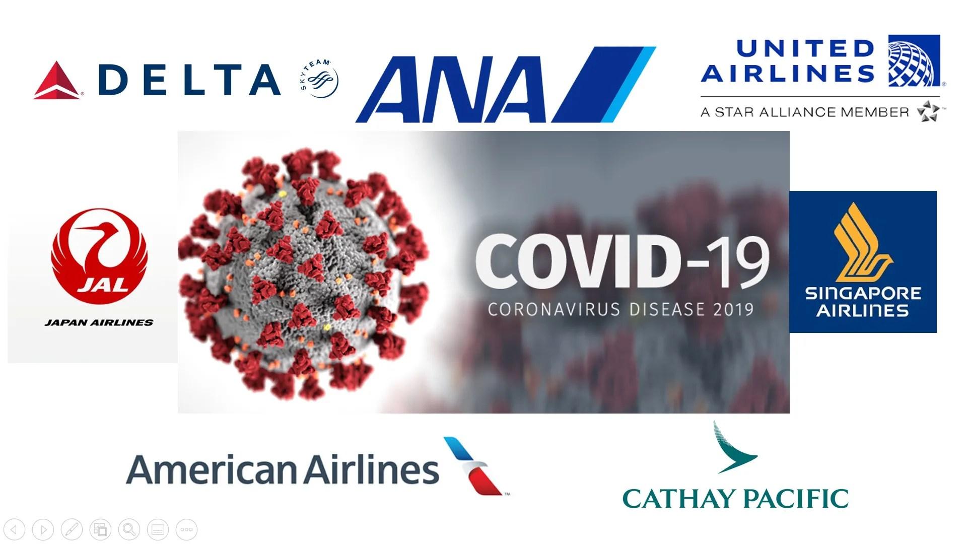 新型コロナウイルス感染拡大による航空会社の上級会員資格に対する対応まとめ