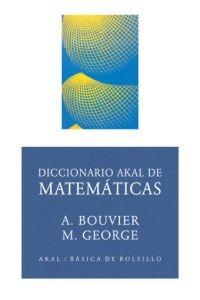 Resultado de imagen para Diccionario Akal de Matemáticas