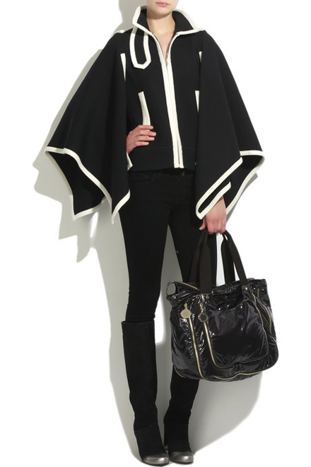 Marc Jacobs Wool cape jacket