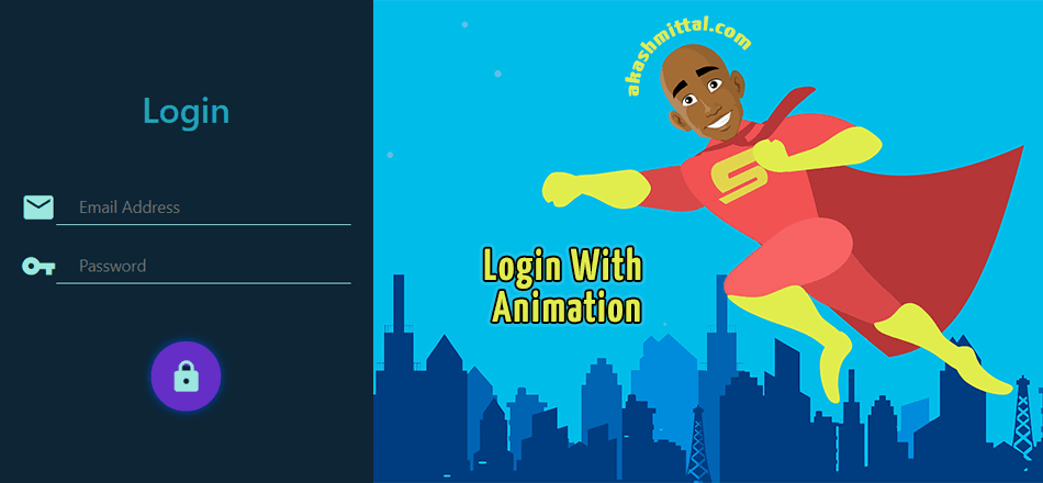 Create Login Page in React Native with Animation
