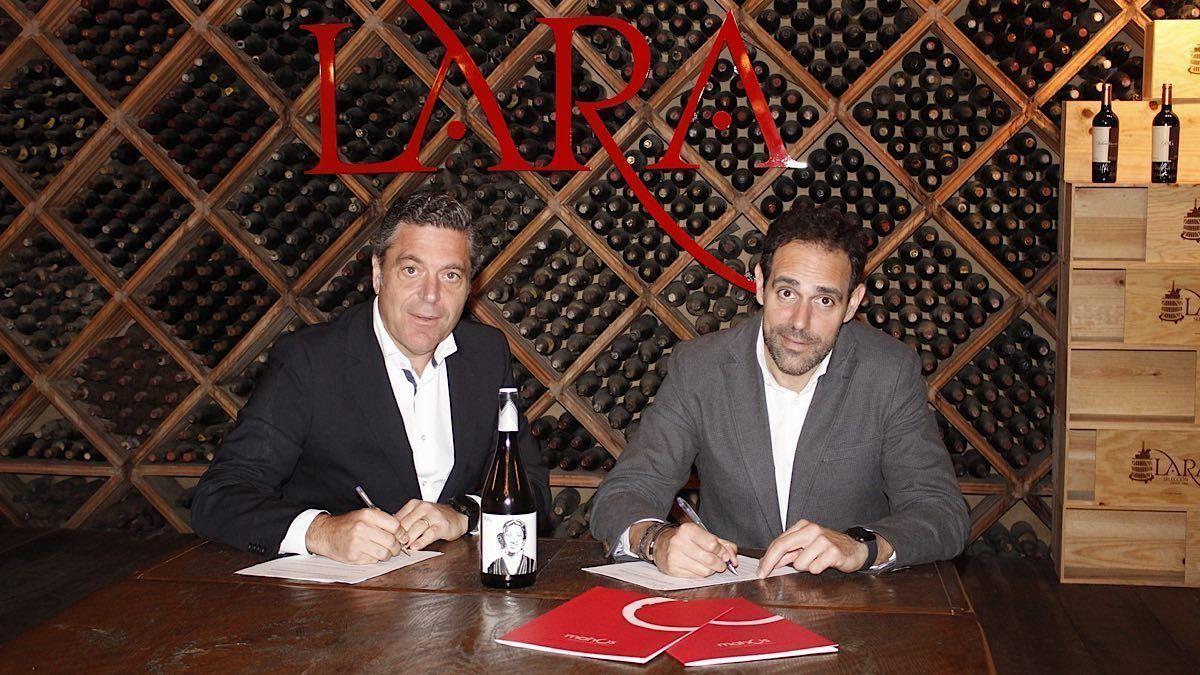 Firma de Acuerdo entre Bodegas Lara y Mahos | AkataVino Magazine